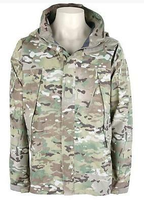 US Army OCP Multicam APCU Level VI Goretex Extreme Wet Cold Weather Jacket Jacke