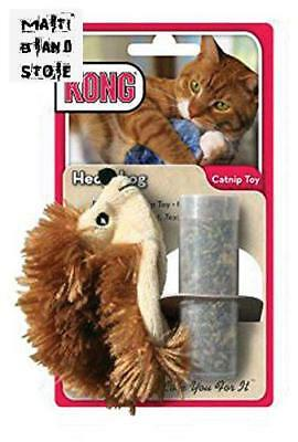 Kong Refillable Catnip Hedgehog Cat Toy Refillable Catnip Toy Irresistible Scent
