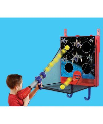 Home Arcade Shooter Game Over Door Space Ball Blaster Game Kids Gift New