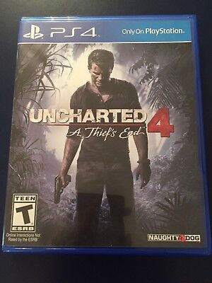 Uncharted 4: A Thief's End PS4 Game (USED / FANTASTIC CONDITION)