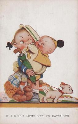 Artist Signed Mabel Lucie Attwell Comic Children