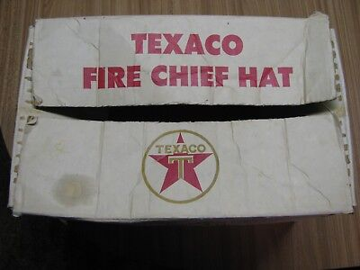 Vintage Texaco Fire Chief Hat (Box Only)