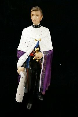 "Royal Doulton ""HRH The Prince of Wales"" Figurine  HN 2883"