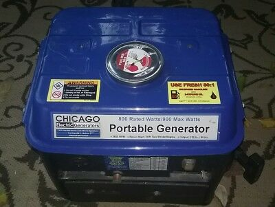 Chicago Electric Generator portable 2 HP Works