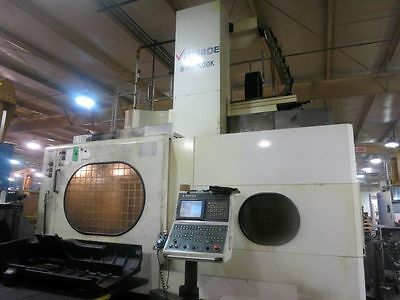 """55""""x63"""" Hankook Vtc-140E Cnc Heavy Duty Vertical Boring Mill With C Axis And Liv"""