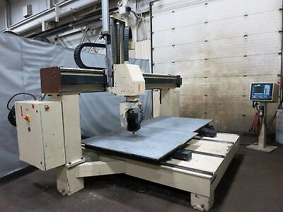 Motionmaster Model Sb-55Xt 5-Axis Cnc Router With Twin 5'x5' Tables