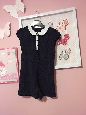 Girls Marks And Spencer M&S Playsuit Age 5-6 Years