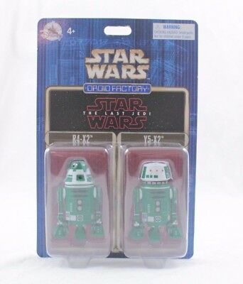 Disney Parks Star Wars R4-X2, Y5-X2 The Last Jedi - Droid Factory 2-Pack set