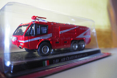 del-Prado Feuerwehr Modell-Auto Nr.??  AIR CRASH DRAGON x6 TA 1:80  OVP