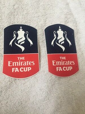 FA Cup 2016/17 Sleeve Patches