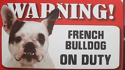 """Warning """" border collie """"on Duty pet  Dog cat Breed Sign"""