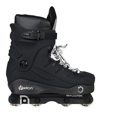 Anarchy Revolution Aggressive Skates - Black 8 UK