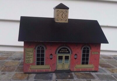 1991 Windfield Design - Train Station, Fort Edward, Ny,  Retired