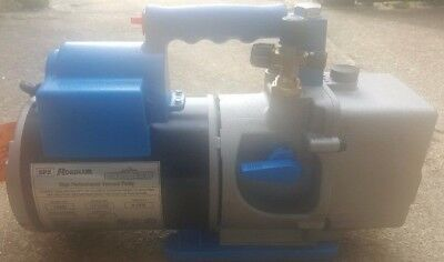 Robinair 15600 Vacuum Pump, Two Stage, Direct