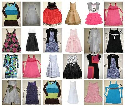 NWT 50 Girl Short Long Causal Formal Evening Party Dresses Resale Mixed Lot 2-16