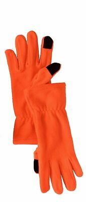 Women's Fleece Smartphone and Tablet Touch Screen Compatible Gloves (One Size)