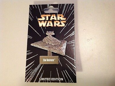 Disney Star Wars Series Limited Edition Star Destroyer Pin w/ Stand New Release!