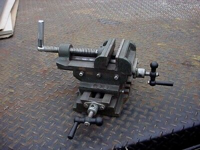 """JACOB 100 4"""" wide cross slide vise 2 axis X Y mill milling machine drill press"""