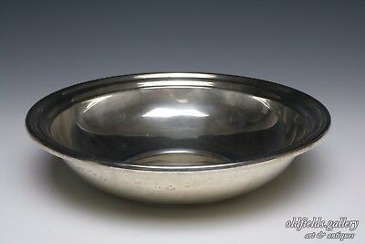Antique Vintage Gorham Sterling Silver Bowl #387 date 1947 Scrap 379 grams