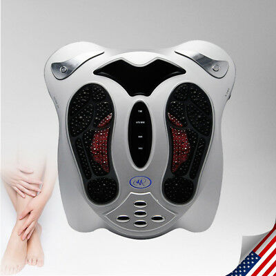 Circulation Blood Booster Health Electric Foot Massager w/Remote Control US Plug