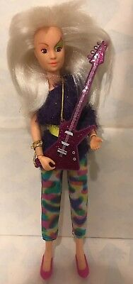 1986 Hasbro Jem and the Holograms - ROXY DOLL  vintage hasbro