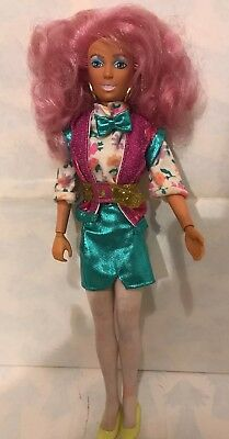 Hasbro Vintage JEM and the Holograms RAYA doll  1987
