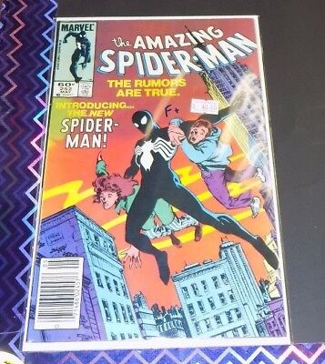 The Amazing Spider-Man #252 - F+ - First Black Suit in ASM -Marvel-