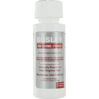 BOSLEY by HAIR REGROWTH TREATMENT, EXTRA STRENGTH FOR MEN- TWO MONTH SUPPLY