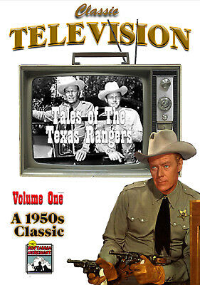 Tales of The Texas Rangers - Vol. 1 - Classic TV Shows