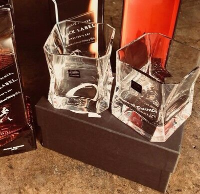 Blade Runner Cibi Double Old Fashion Crystal Glass set for Johnnie Walker