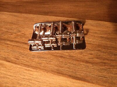 Original Vintage 1970's Fender Jazz Precision bass Bridge VG *Worldwide*