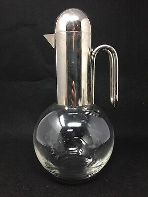 Art Deco 1930's Modernistic Chrome Ball Pitcher - Absolutely Stunning