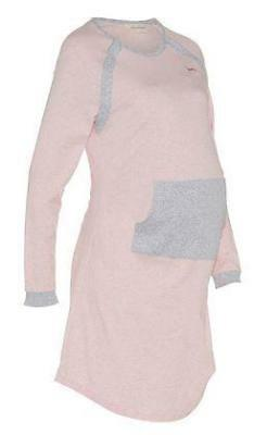 Ladies Womens Maternity Button Down Cotton Winter Nightie Peter Alexander Pajama