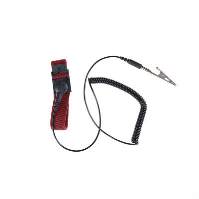 Hot Anti Static ESD Adjustable Wrist Strap electronic Discharge Band Ground AU~