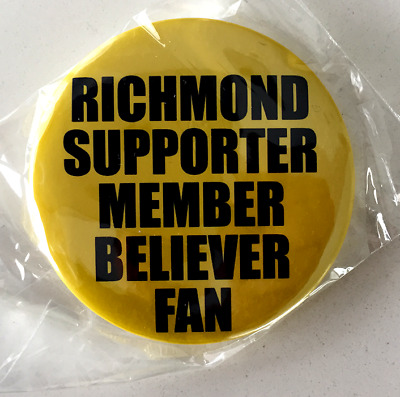 RICHMOND PREMIERS  BADGE- SUPPORTER -new 57mm
