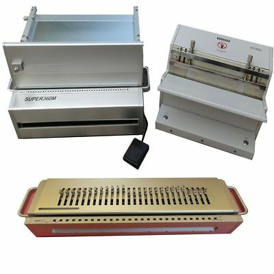Wire Binding Machine Set With 2 Dies (Electric Closer)