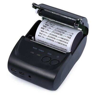 MINI Android Wireless Bluetooth 58mm Thermal Paper Receipt Printer For Office