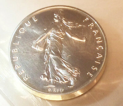 France 1FF Piefort Issue - BEAUTIFUL! - Sower - Pristine proof condition!!
