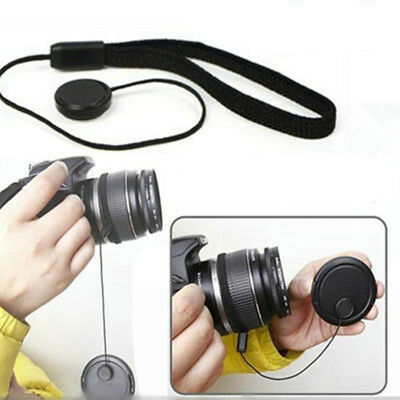 5Pcs Camera Lens Cover Cap Keeper Holder Strap Lanyard Rope Anti-lost String FR