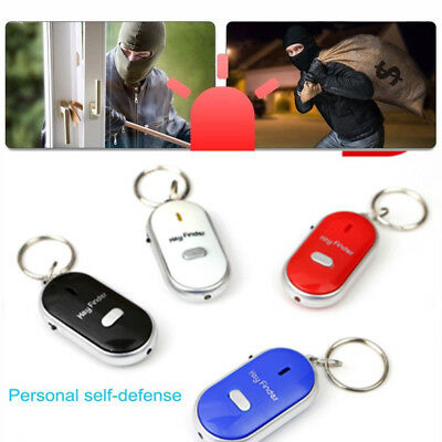 Self Defense Keychain Personal Alarm Siren Song Survival Whistle Bag Keyring