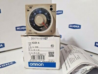Omron HCR-A Timer 24-48VAC 50/60Hz 17516HI (new old stock)