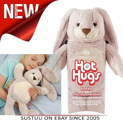 Aroma Home Bunny Microwaveable Hot Hug Body Warmer With New Super Soft Fabrics