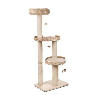 Home CAT TREE Play Scratch Climbing BED Pet Activity PREMIUM Kitten Post Tower