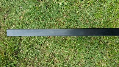 Aluminium Pool Fence Post  Square  50 x 50 x 1.8 x 2100 mm - Black Powder coated