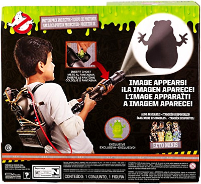 Ghostbusters Ghost Hunting Gear Toy Projector Electronic Proton Backpack Blaster