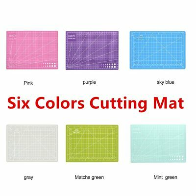 A3/a4/a5 Cutting Mat Self Healing Printed Grid Lines Knife Board Craft Model ~M