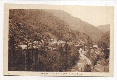 pontau , vista general (valle de aran)
