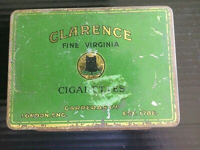 Clarence  Tobacco Tin by Carreras