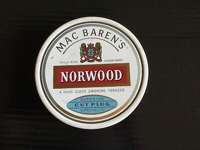 "Mac Baren's "" Norwood ""   Tobacco Tin"