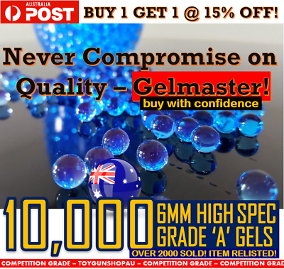 6Mm Gel Ball Ammo 6Mm Gel Ball Bullets Gel Ball Gun Ammo Toy Gel Ball Blaster Au
